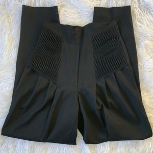 Gianni Versace High Waisted Couture Pants